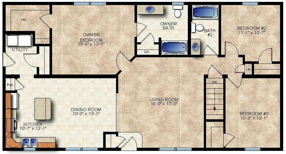 taylor modular home floor plan beaver homes and cottages taylor creek iii