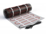 Materials for electrical radiant floor heat.