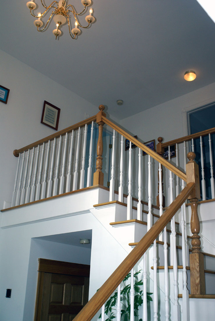 Foyer Stair North Salem, NY