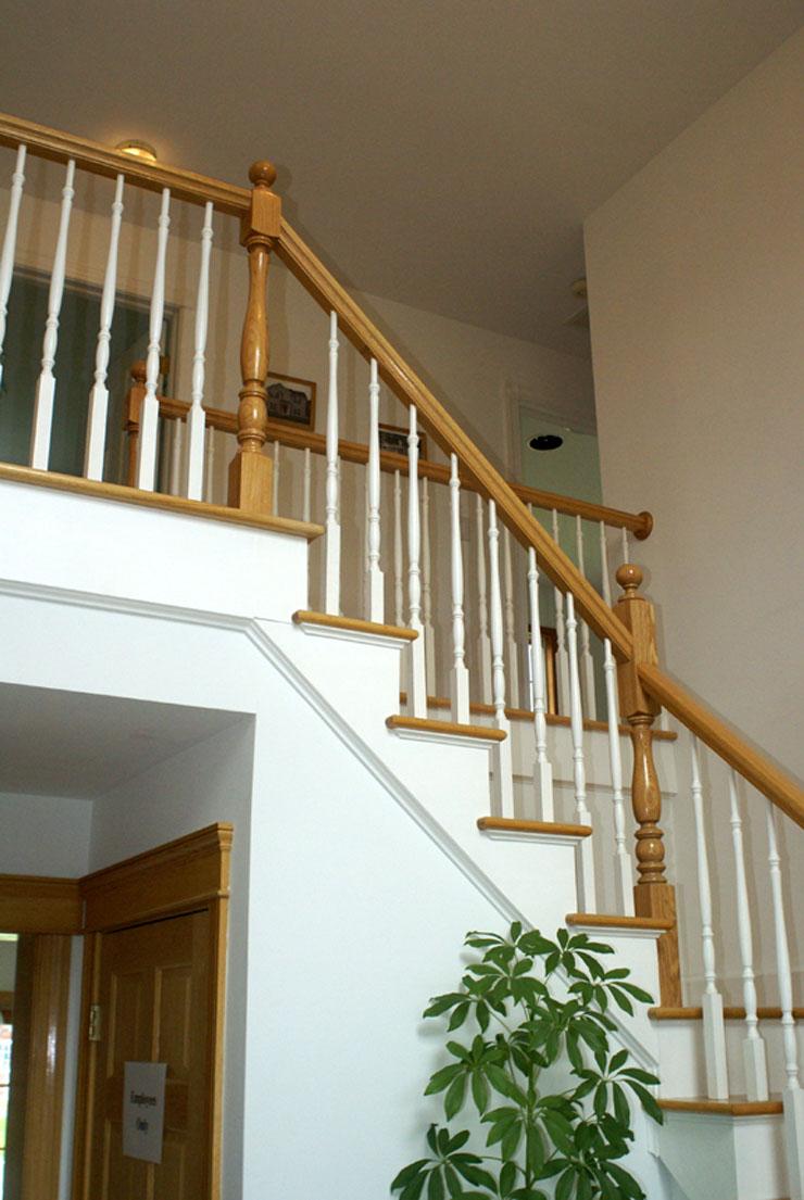 Foyer Stair Pound Ridge, NY