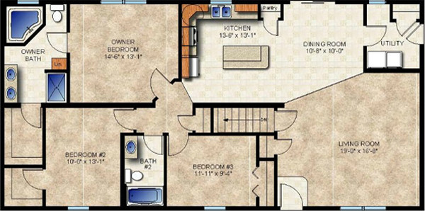 Universal design modular homes echo accessible modular homes Universal design home plans